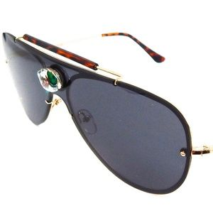 PANTHER POWER GREEN ENVY EYE AVIATOR GLASSES NEW
